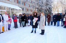 Ольга Тимофеева помогла ковидному госпиталю в Ставрополе