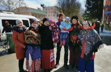 В Ставрополе состоялись традиционные народные гуляния, посвященное завершению «Масленичной недели»