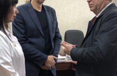 Михаил Кузьмин ознакомился с ходом проведения ремонтных работ медицинских учреждений