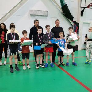 В Ставрополе прошли соревнования по бадминтону за кубок Главы Промышленного района