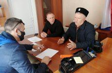 Краевой депутат Андрей Юндин провел выездной прием граждан