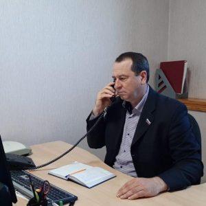 Депутат Думы Ставропольского края Игорь Николаев общался с жителями округа онлайн