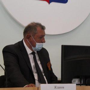 Анатолий Жданов принял участие в заседании Совета депутатов Красногвардейского муниципального округа Ставропольского края