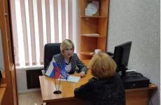 Депутат Думы Ставропольского края Людмила Редько провела личный прием граждан по социально-правовым вопросам