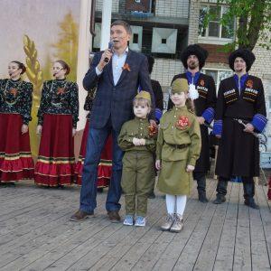 В Ставрополе прошли праздничные мероприятия в рамках патриотической акции «Утро Победы»