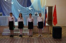 Ольга Тимофеева отметила благодарностями участников проекта «Парта Героя» в селе Кочубеевском