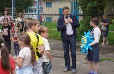 Дмитрий Судавцов организовал детскую развлекательную программу ко Дню защиты детей