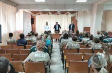 Дмитрий Судавцов провёл встречу с трудовым коллективом АО «Электроавтоматика»