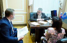 Губернатор края, секретарь Регионального отделения «Единой России» в регионе Владимир Владимиров провел личный прием граждан