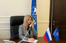 Сегодня в региональной приемной партии в рамках Недели приемов граждан старшего поколения по социально- правовым вопросам провела онлайн-прием Елена Бондаренко