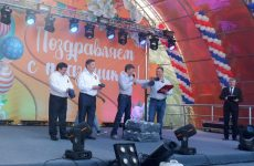 Дмитрий Судавцов принял участие в торжественном мероприятии, посвященном Дню Промышленного района