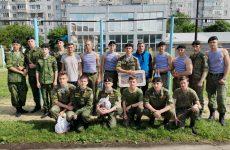 Ставропольские кадеты показали свою физическую подготовку