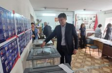 Дмитрий Судавцов принял участие в предварительном голосовании
