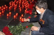 Депутаты почтили память героев, павших в Великой Отечественной войне