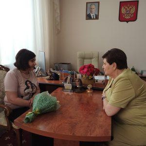 Очередной прием граждан провела депутат Думы Ставропольского края по избирательному округу №12 Валентина Муравьева