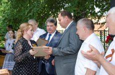 Алексей Завгороднев помог сельскому школьному музею