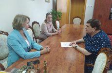 Встреча с руководителем благотворительного фонда