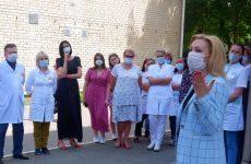 Ольга Тимофеева побывала в трех поликлиниках Ставрополя