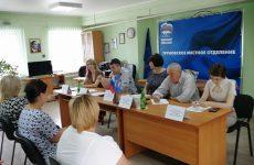 Андрей Юндин с коллегами провел совместный тематический прием в Труновском округе.