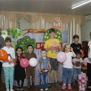 30 мая поздравления с Днем защиты детей получали дети, состоящие в Общественной организации помощи детям-инвалидам «Надежда».