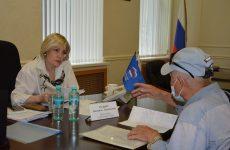 Людмила Редько провела прием педагогов в рамках Всероссийского единого дня приемов учителей по актуальным проблемам в сфере образования