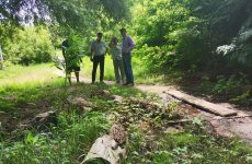 Дмитрий Судавцов оказал помощь в расчистке русла реки Ташла