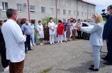 Ольга Тимофеева провела пять встреч с жителями Андроповского района Ставропольского края