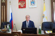 Председателем Думы Ставропольского края седьмого созыва избран Николай Великдань