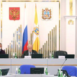 В Думе Ставрополья началась «комитетская» неделя